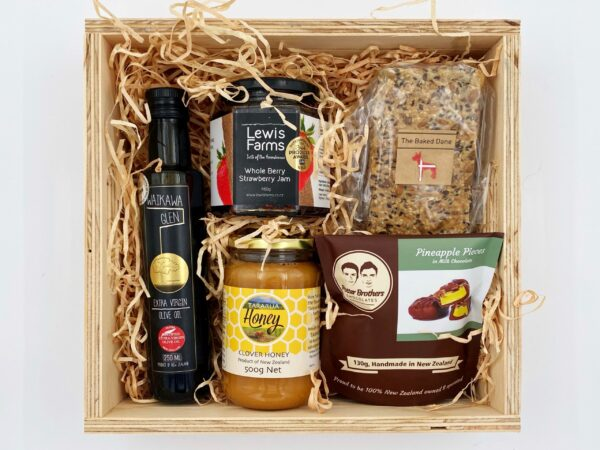 Heavenly Horowhenua Box Gift Basket