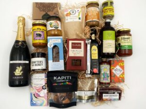 Wellington Region Gift Box with sparkling wine