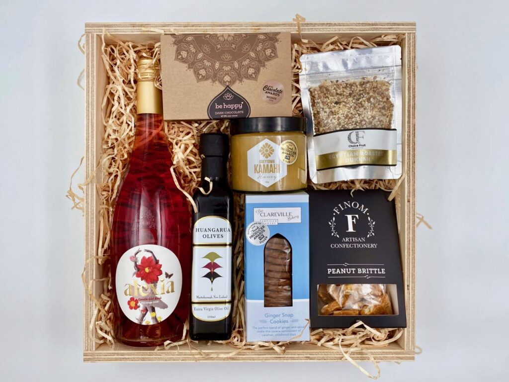 Wonderful Wairarapa Gift Box with Rosé wine