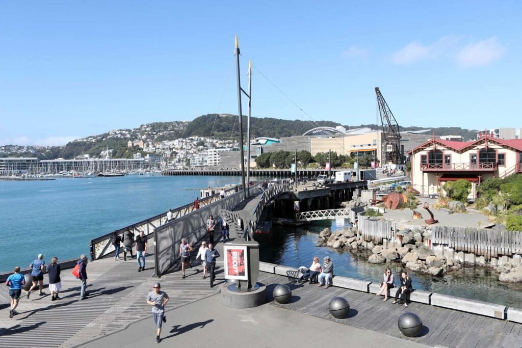 Wellington Waterfront (Credit: Nicola Edmonds)