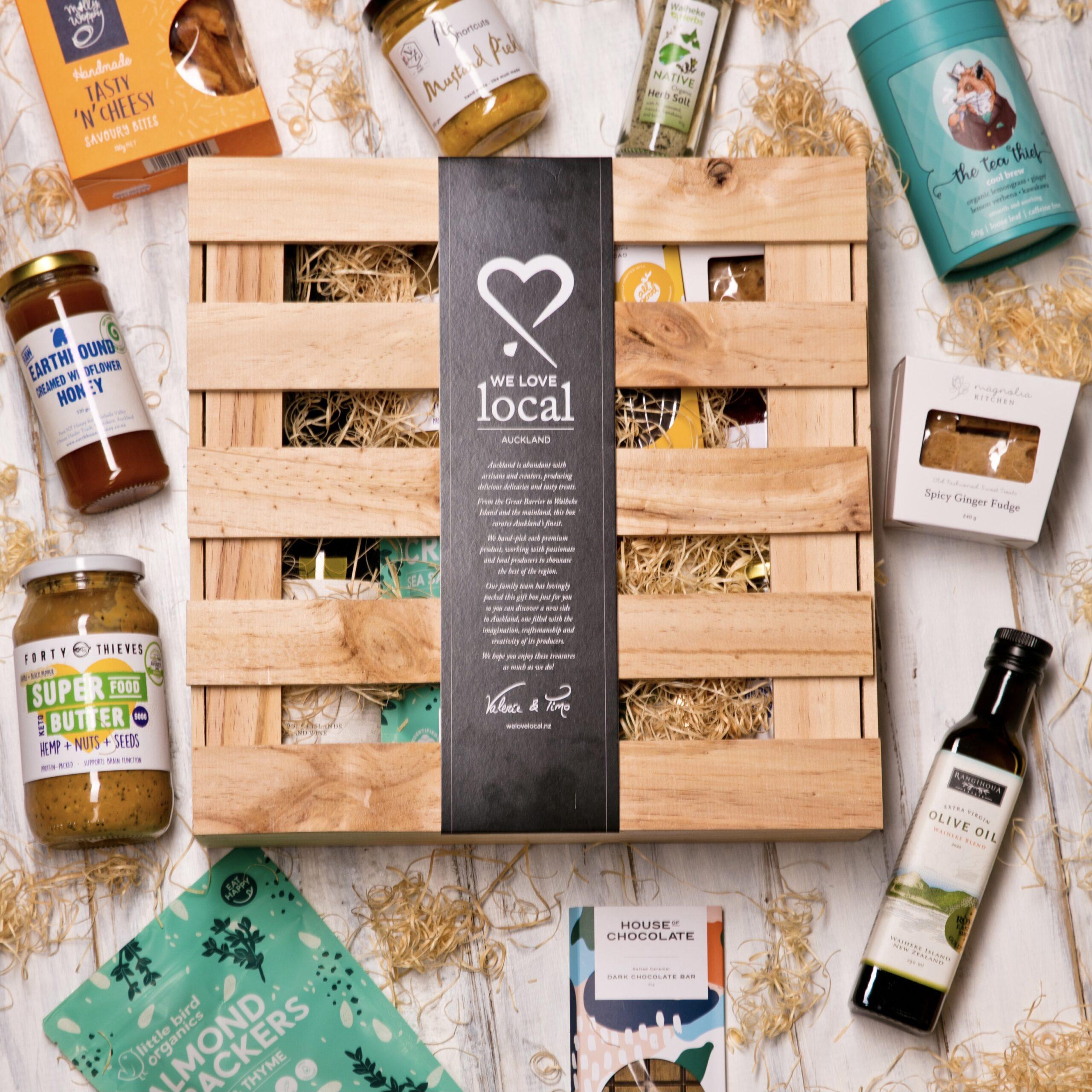 Abundant Auckland Gift Box