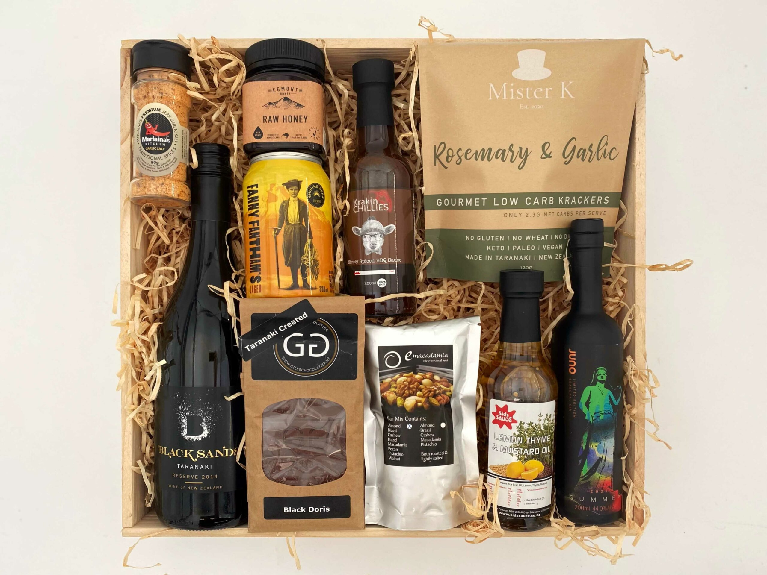 Products of New Plymouth Gift Box